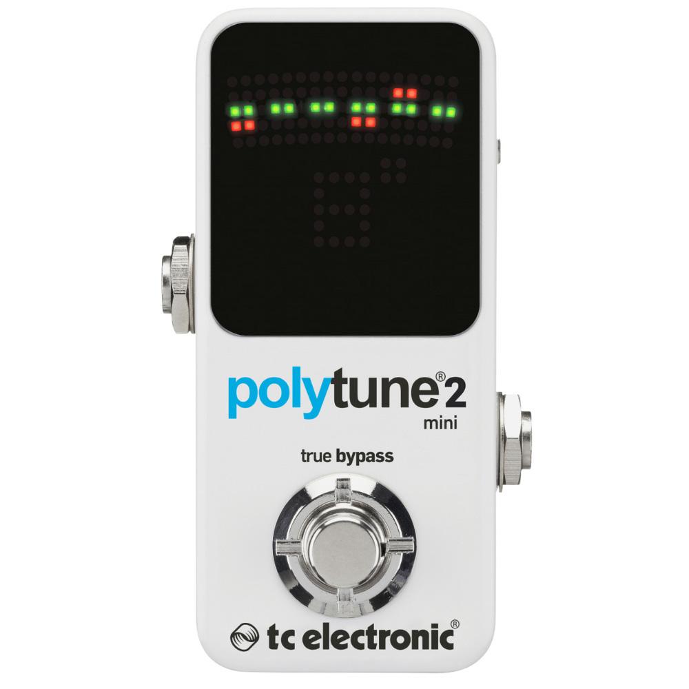 【新品】TC ELECTRONIC POLYTUNE 2 MINI チューナー 高精度ストロボ・チューニング/ウルトラミニサイズ・ポリフォニックチューナー