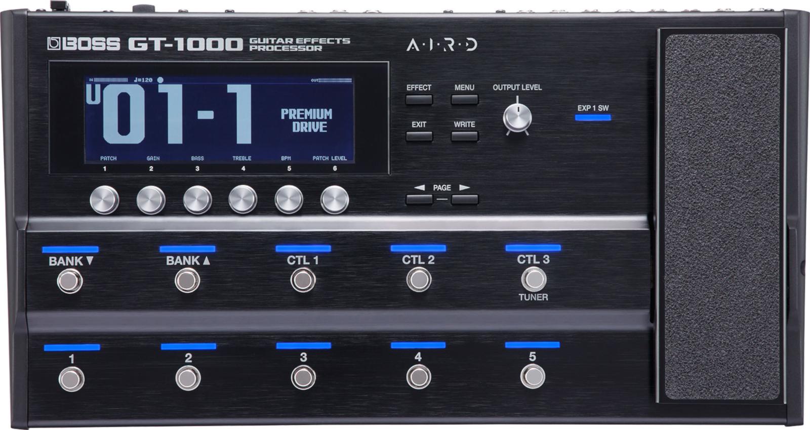 【即納可能】BOSS ボス GT-1000 Guitar Effects Processor マルチエフェクター/ギター用