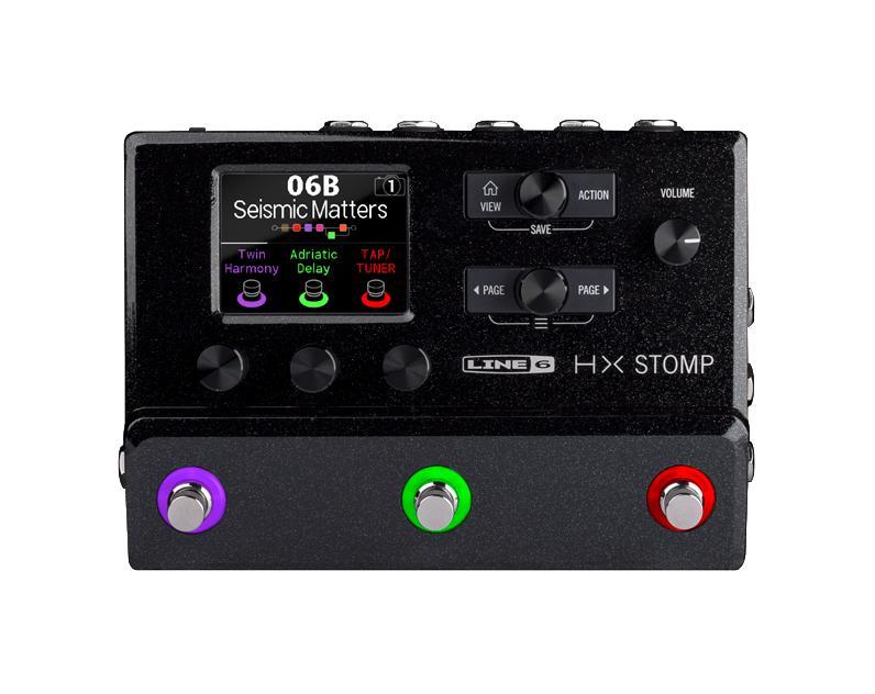 【送料無料】LINE6 HX STOMP 超コンパクト ギタープロセッサー