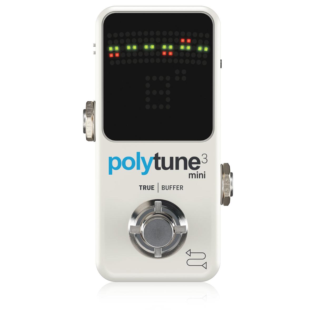 公式ショップ 多機能をコンパクトに収めたチューナー POLYTUNE 3 MINI 海外 ペダルチューナー