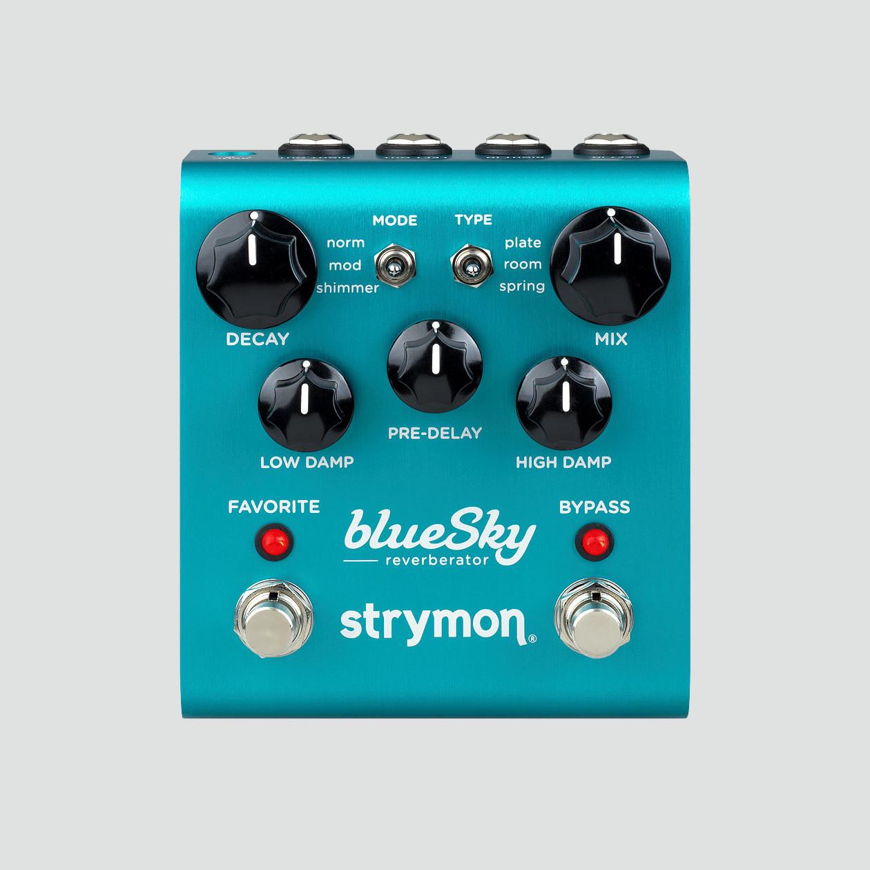 【最高峰のリバーブ・エフェクト、ラック型リバーブを凌駕する完成度】 strymon《ストライモン》blue Sky《ブルースカイ》