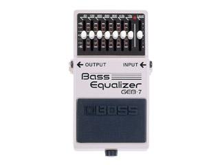 BOSS 《ボス》 GEB-7 Bass Equalizer