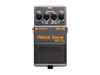 BOSS《老闆》MT-2 Metal Zone