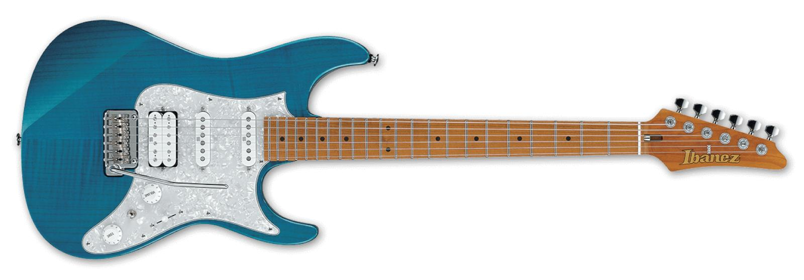 【即納できます】【送料無料】 Ibanez Prestige AZ2204F TAB (Transparent Aqua Blue) Made in Japan アイバニーズ【国産】