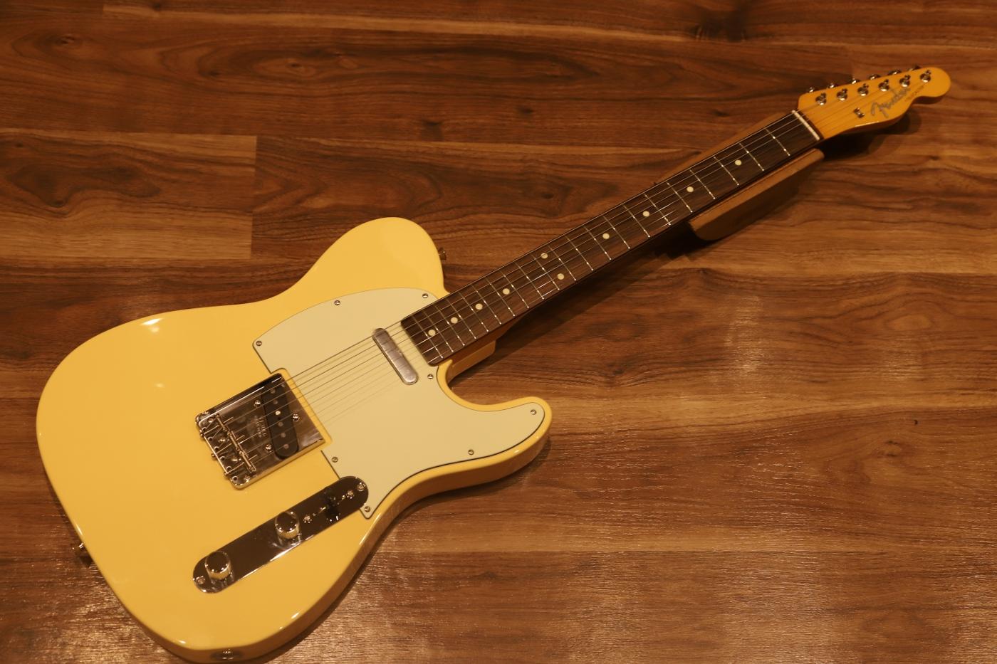 Fender MADE IN JAPAN 2018 LIMITED Traditional' 60s Telecaster®, Rosewood  Fingerboard, Vintage White fender telecaster limitation product