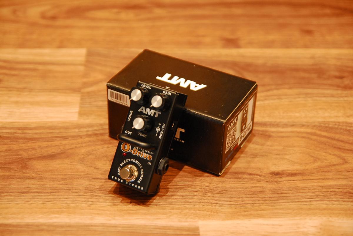【送料無料】【セール特価】AMT Electronics AMTエレクトロニクス [6245] AMT O-Drive mini オーバードライブ/Overdrive【正規品】【返品・交換不可】