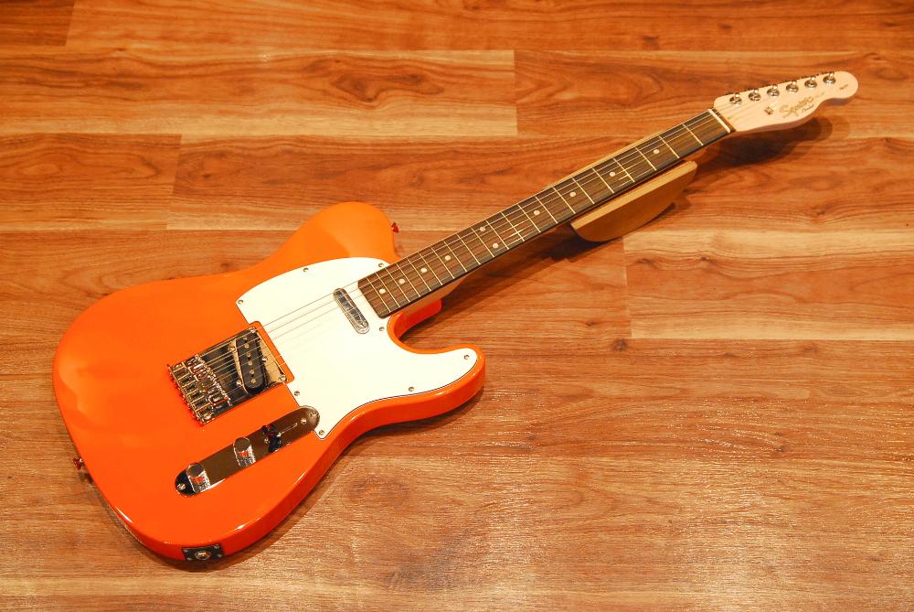 【送料無料】Squier by Fender スクワイヤー [0310200596] Affinity Series Telecaster Competition Orange アフィニティー/テレキャスター/エレキギター/コンペティションオレンジ