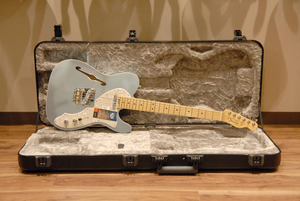 【送料無料】Fender フェンダー [0114312762] USA American Elite Telecaster Thinline MIB(Mystic Ice Blue) #US16026151 エレキギター