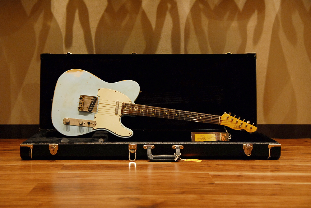 【セール特価】【送料無料】【代引不可】LsL Instruments エル・エス・エル T-Bone Rosewood Ash Sonic Blue