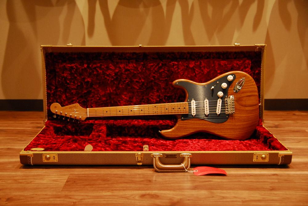 【送料無料】Fender フェンダー [0310202580] USA Limited Roasted Ash 56 Stratocaster NAT(Arctic White) エレキギター/ローステッド/ストラト/限定モデル