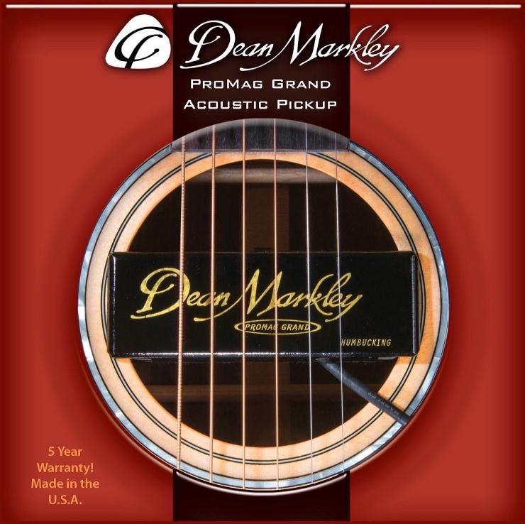 【取り寄せ品】Dean Markley ディーン・マークレー ProMag Grand アコースティック用ピックアップ/ハムバッキング