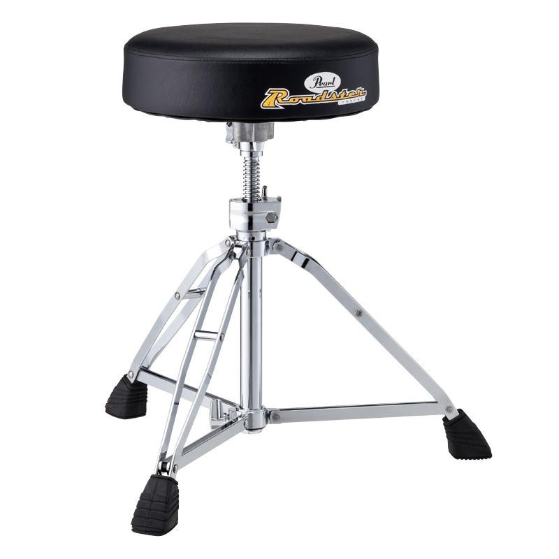【送料無料】Pearl パール D-1000N Drum Thrones ドラムスローン/ドラム椅子/ドラムイス/ダブルレッグ仕様(D1000N)