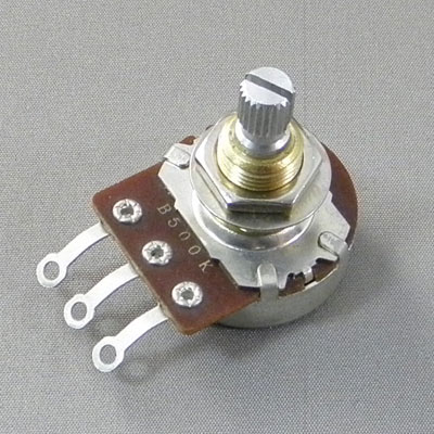 蔵 カード 代引き即納可能 Bourns ボーンズ 1604 24mm pot インチ ポット inch スプリット A250K [並行輸入品] Split