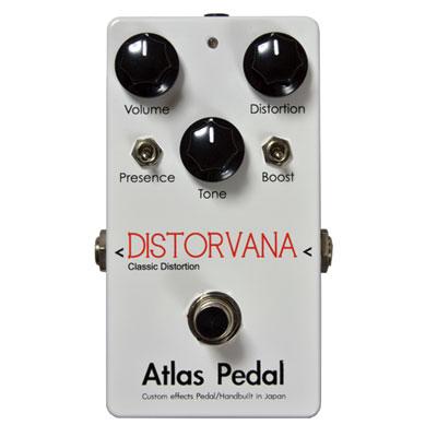 【取り寄せ品】【送料無料】Atlas Pedal アトラスペダル [3311] DISTORVANA ディストーション