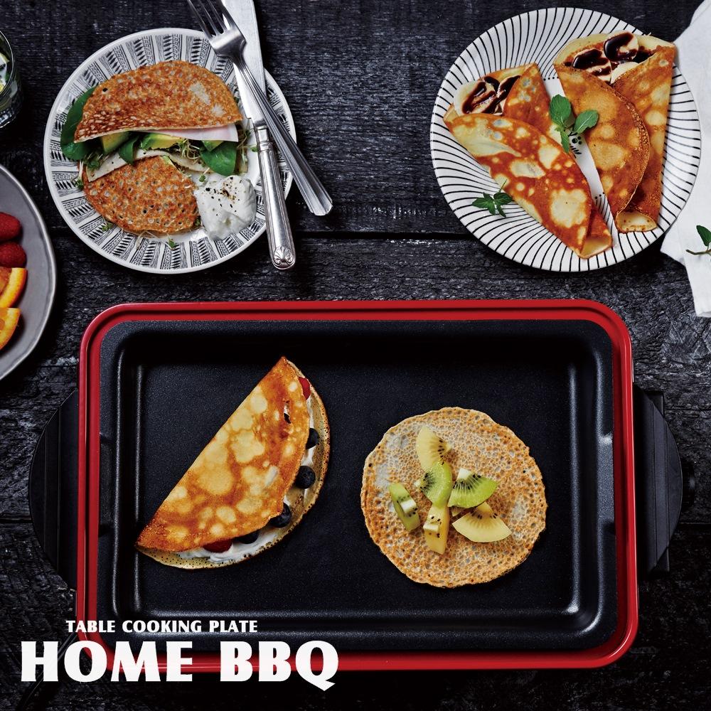【送料無料】ホームバーベキュー Home BBQ【レコルト recolte】rbq1 フェス 屋外 料理 レシピ ホットプレート お洒落 ホームパーティー クッキングプレート
