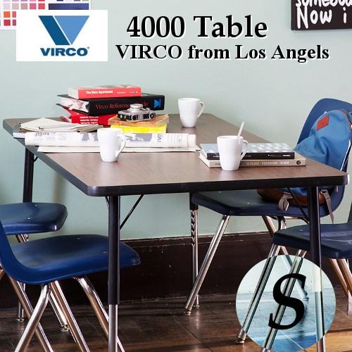 4000 Table(S)【アートワークスタジオ VIRCO バルコ】実用性と耐久性に優れたヴァルコユニバーサルデザイン。米国製机テーブル