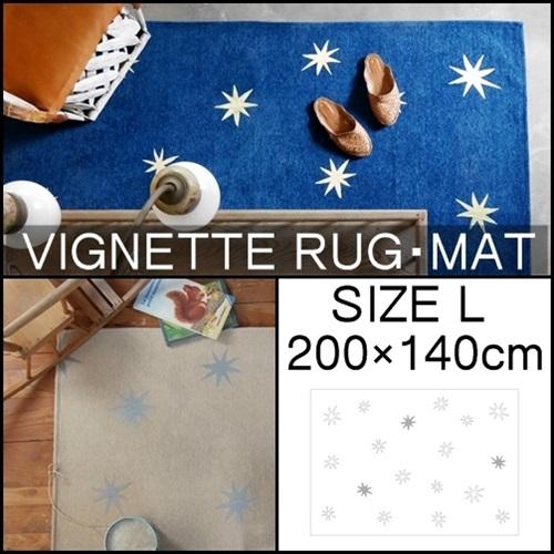 【在庫限り】【送料無料】VIGNETTE RUG・MAT L SIZE ビネット ラグ・マット L SIZE フロアマット カーペット RUG マット サーフスタイル 【西海岸 インダストリアル】 【WEST VILLAGE TOKYO ウエストビレッジトーキョー 】(z)(SUPER)