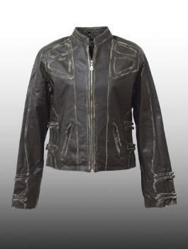 SOVIET(ソビエト) Lady's Leather Jacket @Olive レディス/レザー 【smtb-kd】