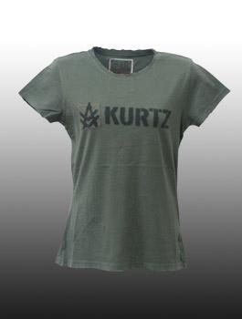 通販 激安 メール便送料無料 代引き不可 A.KURTZ 超歓迎された エーカーツ -Lady's- S Tee Solid \8 Fatigue @ レディース 半袖 250 Tシャツ YDKG-kd