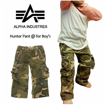 a18605f2c ALPHA INDUSTRIES (Alpha industries)-Boy's-Hunter Pant @ CAMO [YPH41500C0]  ...