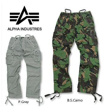 timeless design b0432 8a75b ALPHA INDUSTRIES (Alpha industries) TOUGH PANT Camo @ 3 color men's cargo  cargo pants Camo camouflage pattern full-length 05P30Nov13