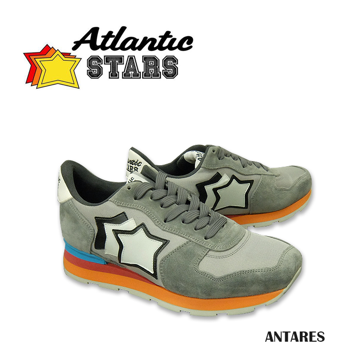 Atlantic STARS(アトランティックスターズ) SHOES ANTARES [CS-85C] メンズ スニーカー シューズ カジュアルシューズ ランニングシューズ【\32,000】ハンドメイド Handmade ITALY イタリア