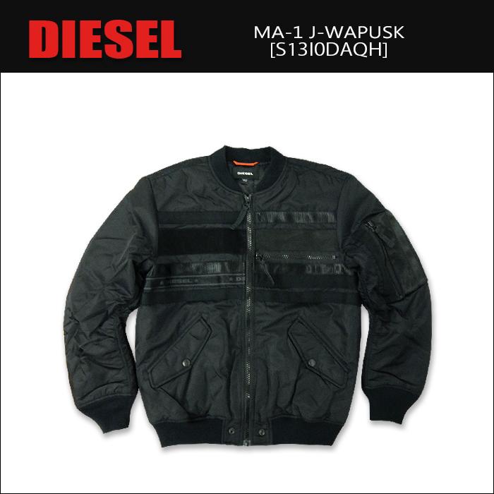 【即納】DIESEL(ディーゼル) Winter Jacket @J-WAPUSK [S13I0DAGH] カジュアル ナイロン ジャケット ブルゾン メンズ アウター 厚手2017FW【\45,000】 【smtb-kd】