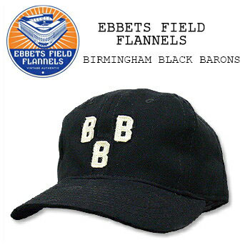 ace121d1ad2 EBBETS FIELD FLANNELS (Ebbets Field flannels) BASEBALL CAP    7  BIRMINGHAM  BLACK BARONS Cap   Hat   baseball another note one size fits most USA  cotton ...