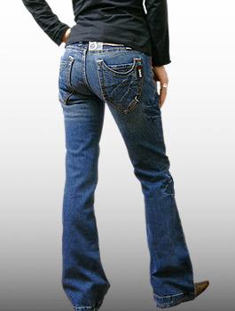 SOVIET(ソビエト)-Lady's- W-Pocket Jeans レディース ジーンズ デニム ブーツカット ストレッチ 【smtb-KD】【\19,800】