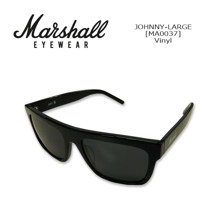 59bdc64728d Marshall Eyewear (Ai Marshalware) SUNGLASS JOHNNY-LARGE[MA0037] Vinyl  sunglasses round type Johnny L guitar amplifier brand ultraviolet rays cut  UV ...