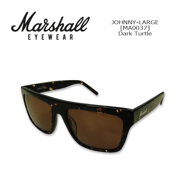 Marshall Eyewear(マーシャルアイウェア) SUNGLASS JOHNNY-LARGE[MA0037] Dark Turtle サングラス ラウンド型 ジョニーL ギターアンプブランド 紫外線カット UVカット 【smtb-kd】