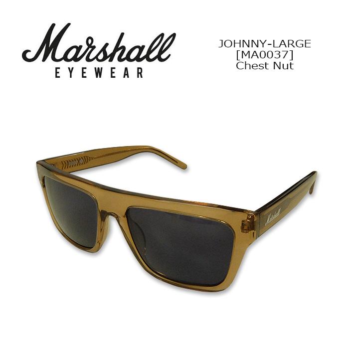 Marshall Eyewear(マーシャルアイウェア) SUNGLASS JOHNNY-LARGE[MA0037] Chest Nut サングラス ラウンド型 ジョニーL ギターアンプブランド 紫外線カット UVカット 【smtb-kd】