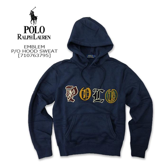 Polo Ralph Lauren(ポロ ラルフローレン) P/O HOOD SWEAT @EMBLEM[710763795] スウェットシャツ フード パーカー アメガジ 長袖2019FW【\25,000】【smtb-kd】