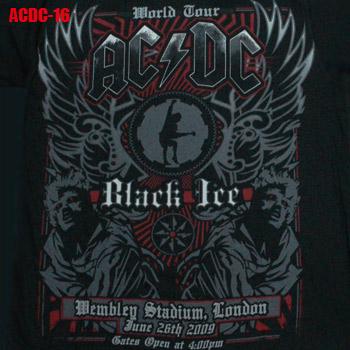 メール便送料無料 ROCK TEE ACDC-16 バンドTシャツ エーシーディーシー 卓抜 ロックTシャツ 大人気 smtb-kd