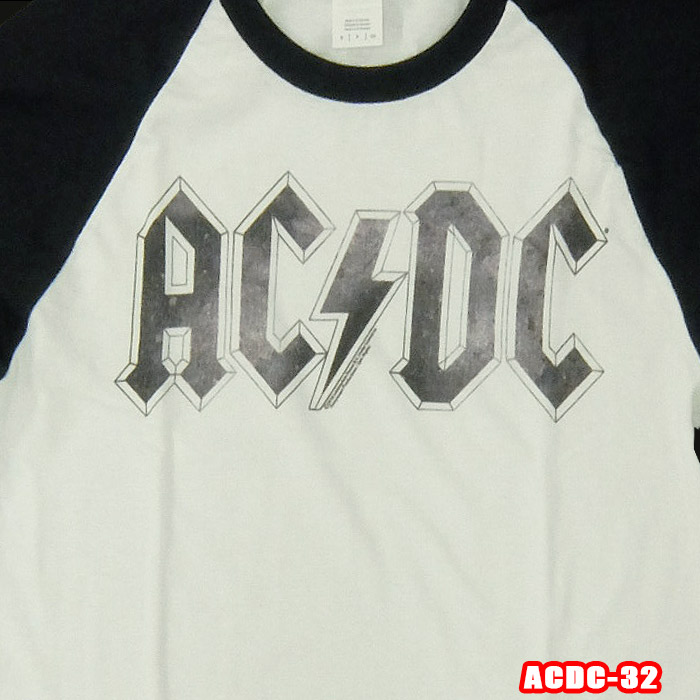 ACDC Blue Yellow Voltage Licensed Adult T-Shirt