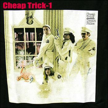 メール便送料無料 引き出物 ROCK TEE Cheap Trick 保障 チープトリック smtb-kd ロックTシャツ バンドTシャツ