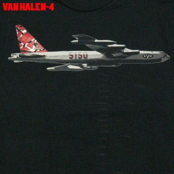 格安 通常便なら送料無料 メール便送料無料 ROCK TEE VAN HALEN-4 バンドTシャツ ロックTシャツ smtb-kd ヘイレン ヴァン
