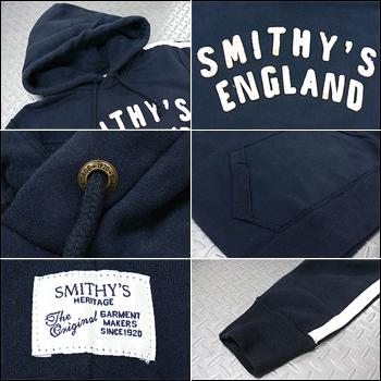 SMITHY'S ENGLAND(史斯密英格蘭)Hood Sweat[BSW13-MF3206]運動衫Parker套衫背後起毛休閒糖果舵人