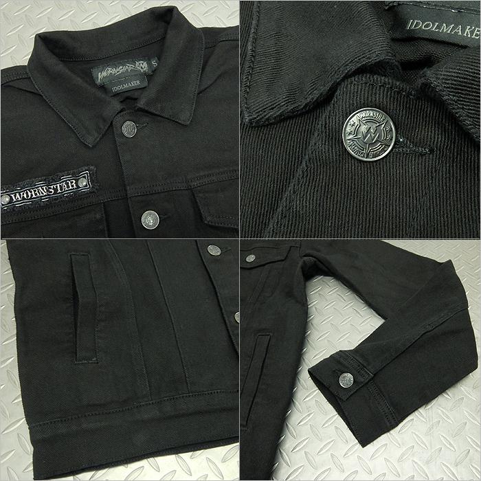 Vintage Black Wornstar Idolmaker Jacket