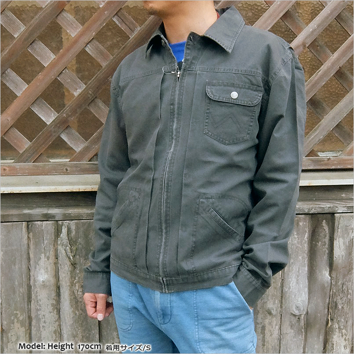 3ca0360a29 WEST WAVE  WRANGLER (Wrangler) CANVAS JACKET  Vintage Inspired ...