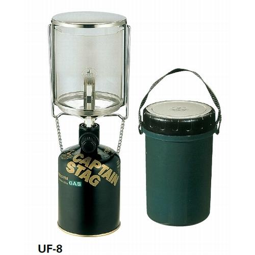 フィールドガスランタン〈L〉<圧電点火装置付> CAPTAINSTAG(キャプテンスタッグ)(フィールドガスランタン〈L〉<アツデンテンカソウチツキ>)