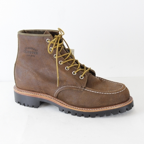 6inchTheBrownBomberMountaineerMOCCTOEFIELDBOOTS1901M64 CHIPPEWA(チペワ)(6インチモックトーフィールドブーツ)-BROWNBOMBER