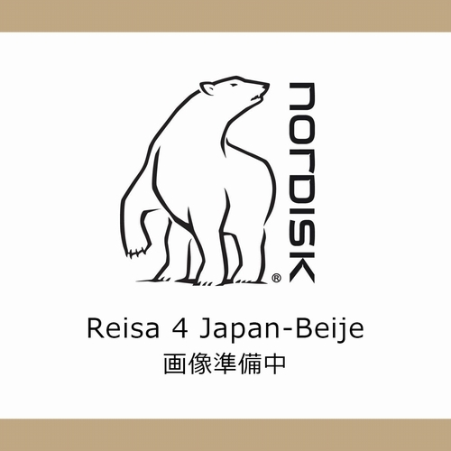 Reisa4Japan-Beige2017 NORDISK(ノルディスク)(レイサ4 ジャパンベージュ)-Japan-Beije