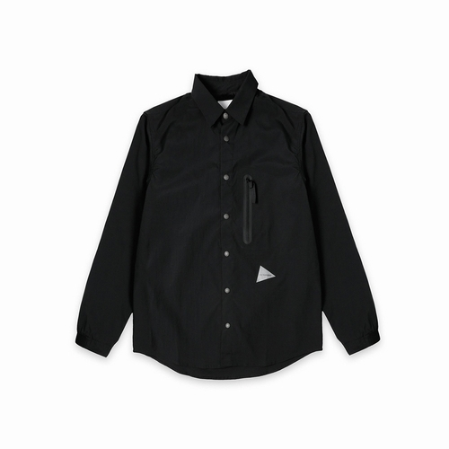 drystretchshirt andwander(アンドワンダー)-26black