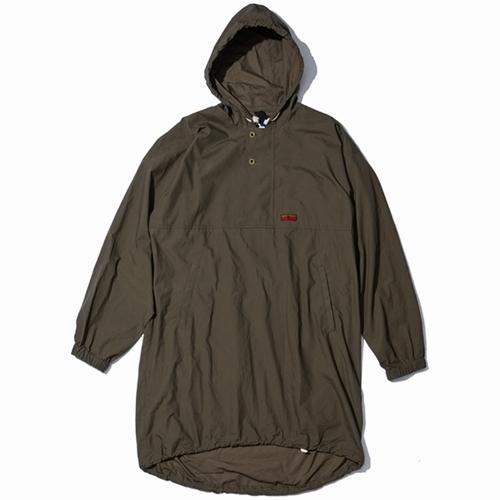 NOMADANORAKSHIRTJKT devadurga(デヴァドゥルガ)(ノマドアノラックシャツジャケット)-KHAKI