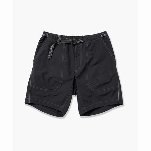 nylontaffetashortpants andwander(アンドワンダー)(ナイロンタフタショートパンツ)-26black