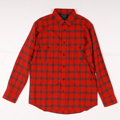 L-WALASKANGUIDESHIRT FILSON(フィルソン)(アラスカンガイドシャツ)-RED130
