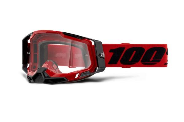 MXゴーグル 100% RACECRAFT2 レッド お気に入 正規輸入品 WESTWOODMX モトクロス プレゼント