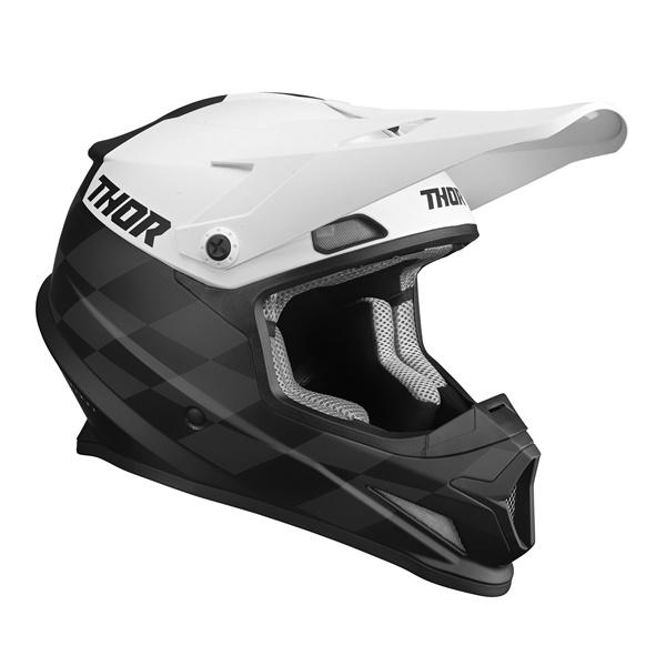 日本専用設計のTHOR SECTOR SGヘルメット THOR 22 SG ヘルメット BIRDROCK オフロード 開店祝い MFJ公認 WESTWOODMX メーカー直送 ホワイト 正規輸入品 日本専用設計 ブラック PSC規格