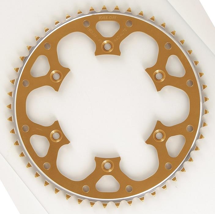 [ギフト/プレゼント/ご褒美] 大注目 TALON タロン スプロケット リア KAWASAKI ゴールド 420サイズ TR367 カワサキ